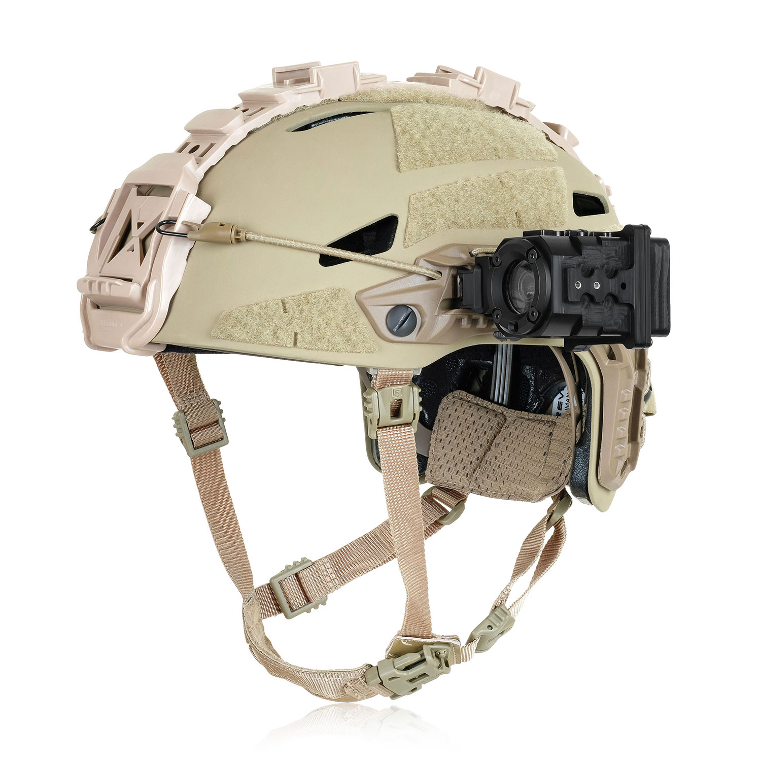 Rugged Helmet mount camera for the Military